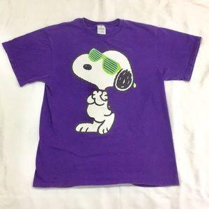 "Vintage ""Mr. Joe Cool Himself"" Snoopy T-Shirt"